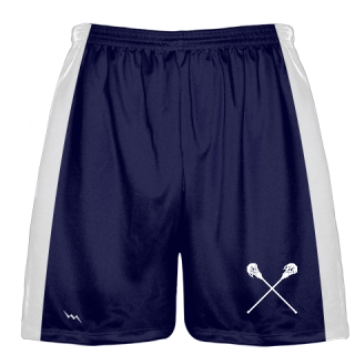 Navy Blue Lacrosse Short