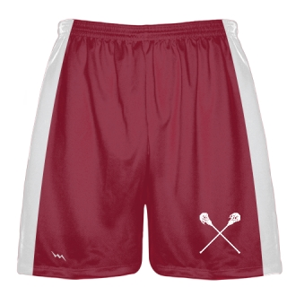 Cardinal Red Lacrosse Short