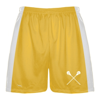 Athletic Gold Lacrosse Short