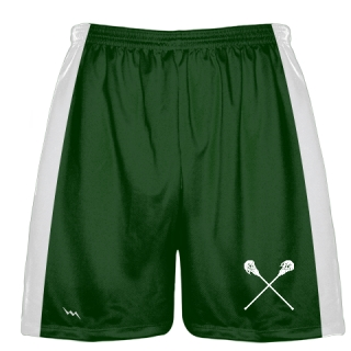Green Lacrosse Short