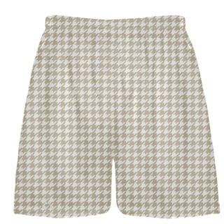 Vegas Gold Houndstooth Shorts - Sublimated Shorts