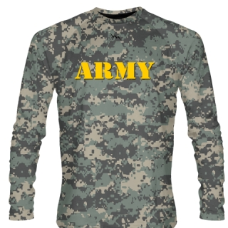 Army Digital Camouflage Long Sleeve Shirts