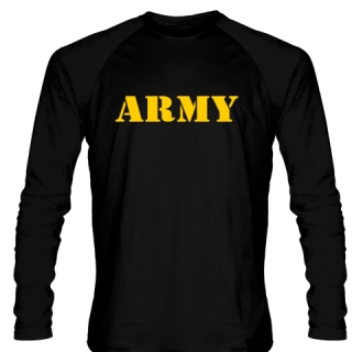 Black Army Long Sleeve Shirts