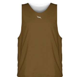 Brown White  Basketball Jersey - Sublimated Jerseys Basketball