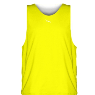 Yellow Sublimated Basketball Jerseys - Custom Basketball Uniforms