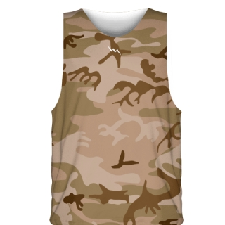 Desert Camouflage Sublimated Basketball Jerseys - Custom Basketball Uniforms
