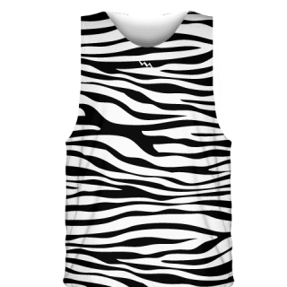 Zebra Basketball Jerseys - Custom Basketball Uniforms
