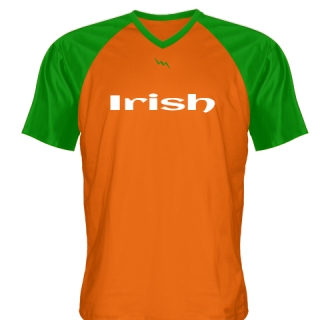 Green Orange Irish Shirt