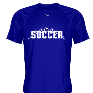 Royal Blue Soccer Jerseys V Neck