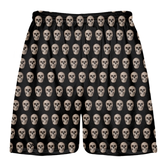 Skulls Lacrosse Shorts - Skulls Basketball Shorts