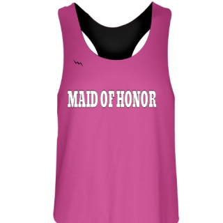 Maid of Honor Reversible Jerseys - Bachelorette Party Shirts