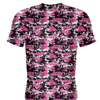 Hot Pink Digital Camouflage Shirts - Adult & Youth Camo Shirts