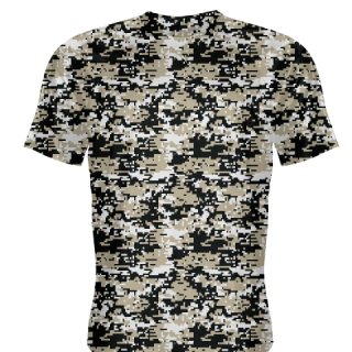 Vegas Gold Digital Camouflage Shirts - Adult & Youth Camo Shirts