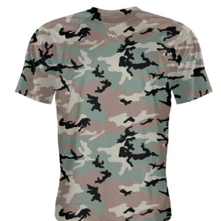 Green Camouflage Shirts - Adult & Youth Camo Shirts