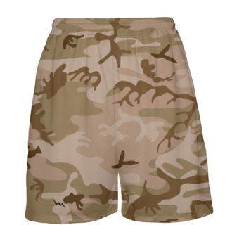 Desert Camouflage Basketball Shorts