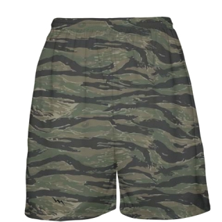 Tiger Camouflage Basketball Shorts