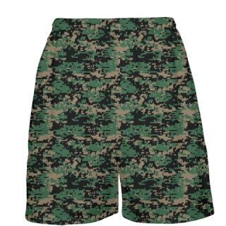 Military Camouflage Basketball Shorts
