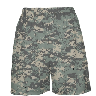 Army Camouflage Basketball Shorts