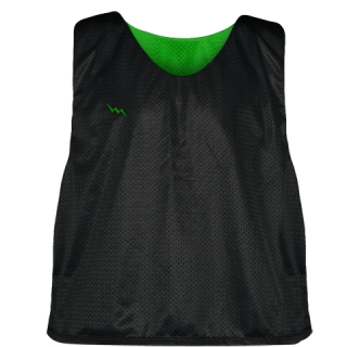 Lacrosse Pinnies Kelly Green - Adult Youth Mesh Reversible Jerseys