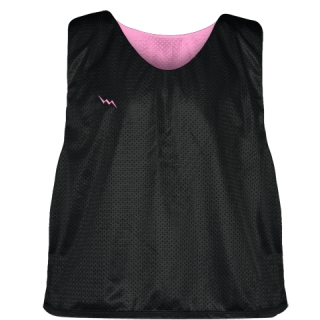 Lacrosse Pinnies Light Pink - Adult Youth Mesh Reversible Jerseys