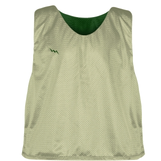 Vegas Gold Forest Green  Lacrosse Pinnies - Lax Pinnies
