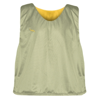 Vegas Gold Athletic Gold  Lacrosse Pinnies - Lax Pinnies