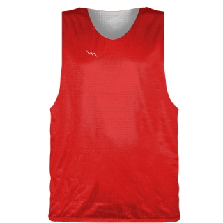 Red Basketball Pinnie - Basketball Practice Jersey