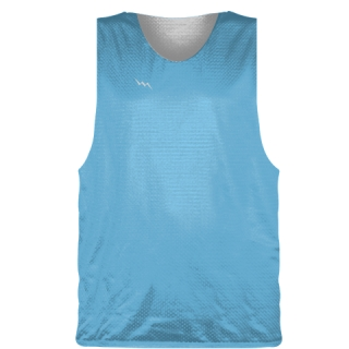 Powder Blue Basketball Pinnie - Basketball Practice Jersey