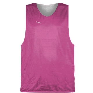 Hot Pink Basketball Pinnie - Basketball Practice Jersey