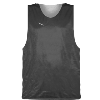 Charcoal Gray Basketball Pinnie - Basketball Practice Jersey