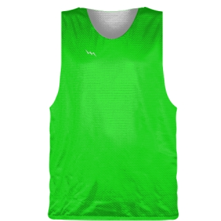 Neon Green Basketball Pinnie - Basketball Practice Jersey