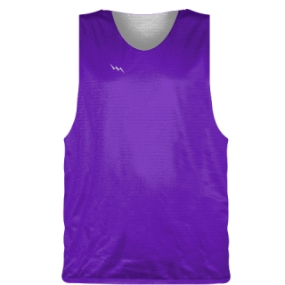 Purple Basketball Pinnie - Basketball Practice Jersey