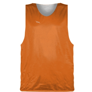 Orange Basketball Pinnie - Basketball Practice Jerseys
