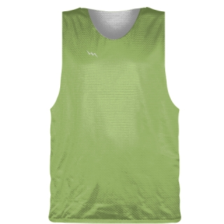 Lime Green Basketball Pinnie - Basketball Practice Jerseys