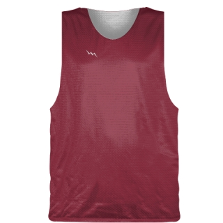Cardinal Red Basketball Pinnie - Basketball Practice Jerseys