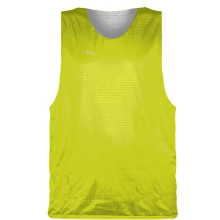 Yellow Basketball Pinnie - Basketball Practice Jerseys