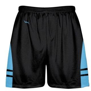 Black Light Blue Youth Adult Lacrosse Shorts