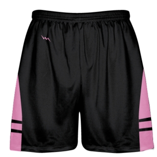 Black Pink Kids Adult Lacrosse Shorts