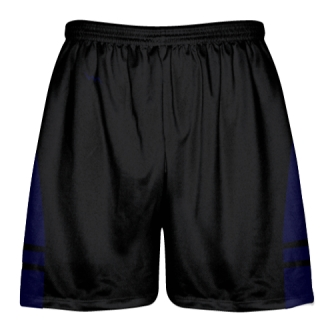 Black Navy Blue OG Lacrosse Shorts - Boys Mens Shorts