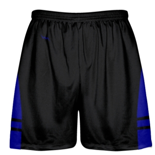 Black Royal Blue OG Lacrosse Shorts - Boys Mens Shorts