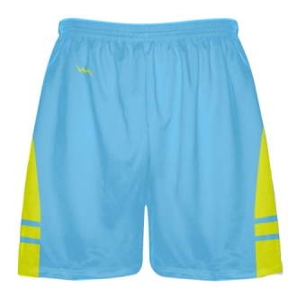 Powder Yellow Boys Lacrosse Shorts - Mens Lax Shorts