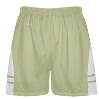 Vegas Gold White Boys Lacrosse Shorts - Mens Lax Shorts