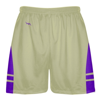Vegas Gold Purple Sublimated Lacrosse Shorts - Boys Mens Shorts