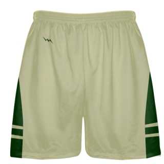 Vegas Gold Forest Green Sublimated Lacrosse Shorts - Boys Mens Shorts