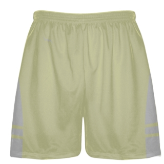 Vegas Gold Silver Sublimated Lacrosse Shorts - Boys Mens Shorts