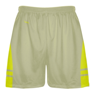 Vegas Gold Yellow Sublimated Lacrosse Shorts - Boys Mens Shorts