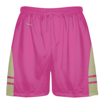 Hot Vegas Gold Lax Shorts - Boys Mens Lacrosse Shorts