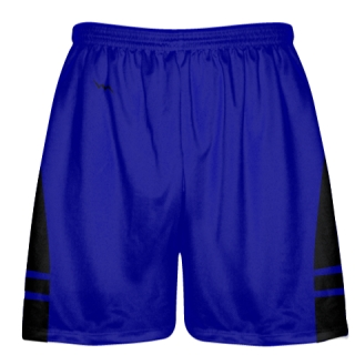 Royal Blue Black Lacrosse Shorts OG - Lax Shorts Mens Boys