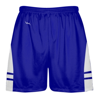 Royal Blue White Lacrosse Shorts OG - Lax Shorts Mens Boys