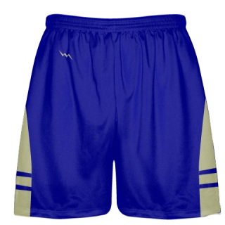 Royal Blue Vegas Gold Lacrosse Shorts OG - Lax Shorts Mens Boys